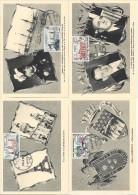 Cartes Maximum Exposition France - Lima - Peru
