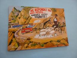 AU SOLEIL DE LA CORSE...SIGNE R.ALLOUAIN - Humor