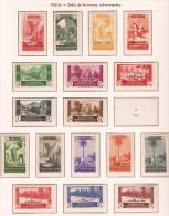 CJ67-L4143.Maroc Marocco CABO JUBY ESPAÑOL SELLOS DE MARRUECOS.VISTAS Y P  1935/6(Ed 67/84**) Sin Charnela. RARA - Cabo Juby