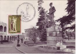 1983 23.4 Verona 40 Anniversario Inizio Guerra Di Liberazione - 1981-90: Storia Postale