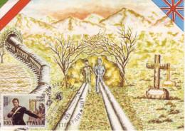 1981 7.6 Grezzana (VR) Commemorazione Vittime Pilon - 1981-90: Storia Postale