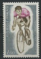 FRANCIA / FRANCE 1972** - Campionati Mondiali Di Ciclismo 1972 - 1 Val. MNH Come Da Scansione - Ciclismo
