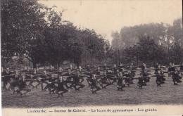 LIEDEKERKE : Institut St-Gabriel - La Leçon De Gymnastique : Les Grands - Liedekerke