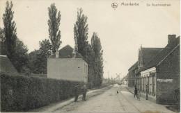 Moerkerke / Vissersstraat Met Zicht Op De Molen / 1918 / Feldpost - Windmills