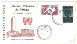 TUNISIA - 1960 World Refugee Year FDC - Refugees