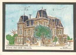 Saint-Saulve = Hotel De Ville Par Yves Ducourtioux - France