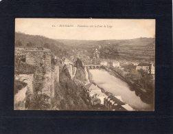 46429    Belgio,   Bouillon,  Panorama  Vers Le Pont De Liege,  NV - Bouillon