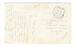 1916 - Britische Feldpost In Irak - Bleistift Zeichnung Eines Türkischen Soldaten Auf Postkarte - Iraq