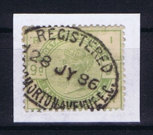 Great Britain SG  195 I  Used  1883 Yvert 84  WATERMARK SIDEWAYS INVERTED - Gebruikt