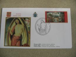 VATICANO PASQUA 2001 - Storia Postale