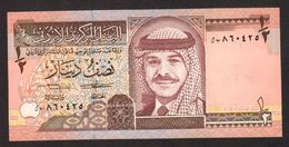 GIORDANIA : Banconota 1/2  Dinaro  - 1997 -  FDS - Giordania