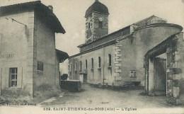 43Ora   01 Saint Etienne Du Bois L'église Et Bijouterie - Non Classés