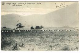 """Congo Belge - Zone De La Ruzizi-Kivu - Uvira - Camp Des Soldats"" - Congo Belge - Autres"