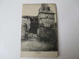 AK / Bildpostkarte 1. Weltkrieg Combres Zerstörtes Haus / Kirche Westfront Verlag J.Lilienbaum, Metz - Francia