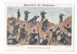 Chromo, Chocolat Du Planteur, Escalade D'une Sablière - Other