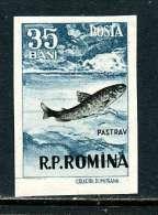 Roumanie 1956 Y&T 1490 * - Unused Stamps