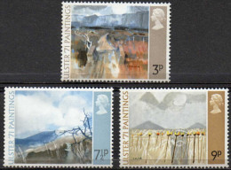 "GREAT BRITAIN 1971 ""Ulster 71"" Paintings - Unused Stamps"