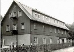 Allemagne - Haus (Karte Geschickt Aus Marienberg) - Falte In Zwei Ecke - Marienberg