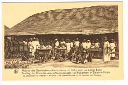 """""""Congo Belge - Mission Des Dominicaines-Missionnaire S De Fichermont - Consultations à L'hopital"""" - Congo Belge - Autres"""