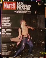DELON ALAIN AVA GARDNER BERGMAN AFFICHE NEUVE 60X78cm PRESSE PARIS MATCH N°2165 DU 22 11 1990 LES LYCEENS - Affiches