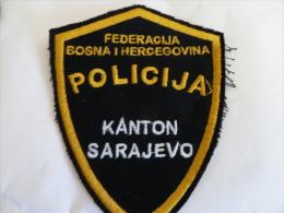 BOSNIEN BOSNIA  POLICIJA - Stoffabzeichen