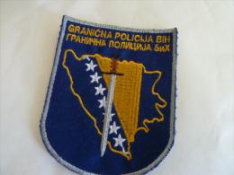 BOSNIEN BOSNIA  GRANICNA POLICIJA - Stoffabzeichen