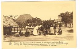 """""""Congo Belge - Mission Des Dominicaines-Missionnaire S De Fichermont - Traitement Des Trypanosés"""" - Kinshasa - Léopoldville"""