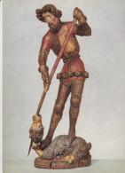 München Bayerisches Nationalmuseum. HI Goerg. Altbayern, Um 1400. Höhe 134 Cm. - Muenchen