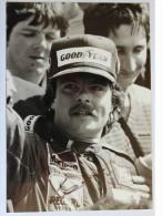 Formule I - Photo - Kéké ROSBERG - Dédicace - Signé - Hand Signed - Autographe - Car Racing - F1