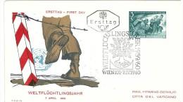 AUSTRIA - WORLD REFUGEE YEAR 1960 - FDC - Rifugiati