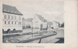 4 ANCIENNES CP De NAMUR 1900-10 MUSEE D'ARCHEOLOGIE, LE CONFLUENT SAMBRE MEUSE, HOPITAL HARSCAMP, LE KURSAAL - Namur