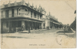 Port Louis La Mosquée The Mosque Edit A. Vidal Stamp Removed Not Postally Used - Maurice