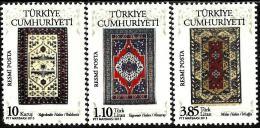 Turkey - 2013 - Turkish Carpets And Rugs - Mint Official Stamp Set - 1921-... République