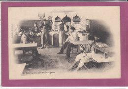 Intérieur D' Un Café Maure Algérien - Profesiones