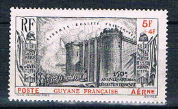 GUYANE    Série Révolution   P.A  N° 19* - Guyane Française (1886-1949)