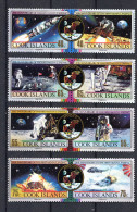 COOK ISLAND, 1989, SPACE , APOLLO - Cook Islands