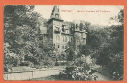 N14/ 031, Meissen, Waldschlösschen Im Stadtpark, Circulée 1909 - Meissen