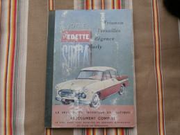 1ere Edition 1955 EPA  VEDETTE SIMCA Trianon Versailles Regence Marly - Auto