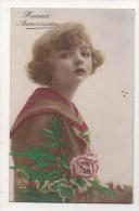 CPA Fantaisie - Femme - Frau - Lady - Art Déco - Portrait - Femmes