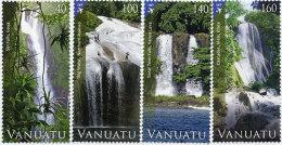 VANUATU - 2013 - Paysages, Chutes D'eau - Waterfall - 4v Neufs // Mnh - Vanuatu (1980-...)
