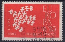 PIA - FRANCE ; 1961 :   EUROPA  (Yv 1309-10) - Europa-CEPT