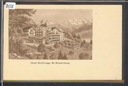 ST BEATENBERG - HOTEL SCHÖNEGG - TB - BE Berne