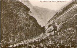 ESGAIRFOCHNANT ROCKS - MACHYNLLETH -  MONTGOMERYSHIRE - WALES - Montgomeryshire