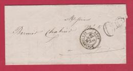 LETTRE DE LYON //  POUR LE PUY  //   2 JUIN  1870 - 1849-1876: Période Classique
