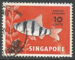 Singapore. 1981 Surcharge. 10c On 4c Used - Singapore (1959-...)