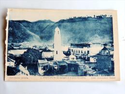 Carte Postale Ancienne : ANJOUAN : La Mosquée Et Le Palais Du Sultan - Comores