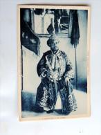 Carte Postale Ancienne : ANJOUAN : Le Sultan - Comores