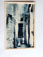 Carte Postale Ancienne : ANJOUAN : Une Rue De MUTSAMUDU , Animé - Comores