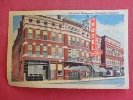 Tennessee > Clarksville       Hotel Montgomery 1956 Cancel   Ref 1242 - Clarksville