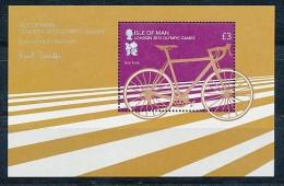 ISLE OF MAN  Mi.Nr. Block 82  Fahrrad   - MNH - Isla De Man
